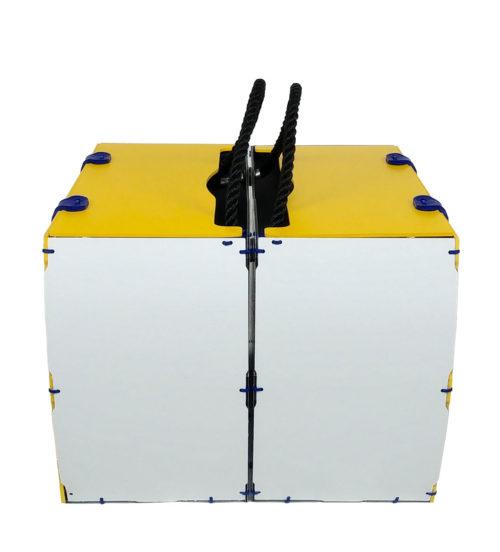 borse per bici modello pop giallo rigido per bike laterale